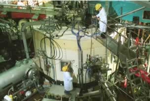 FTU: working on the cryostat
