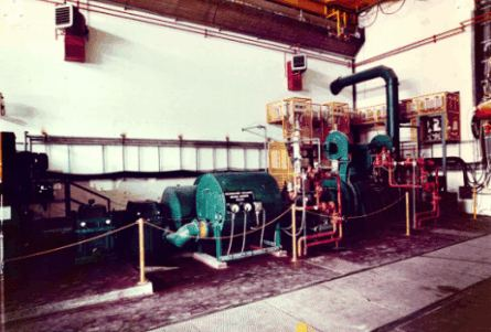 a closer view of MFG1 generator